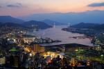 Nagasaki City view from Hamahira Japan